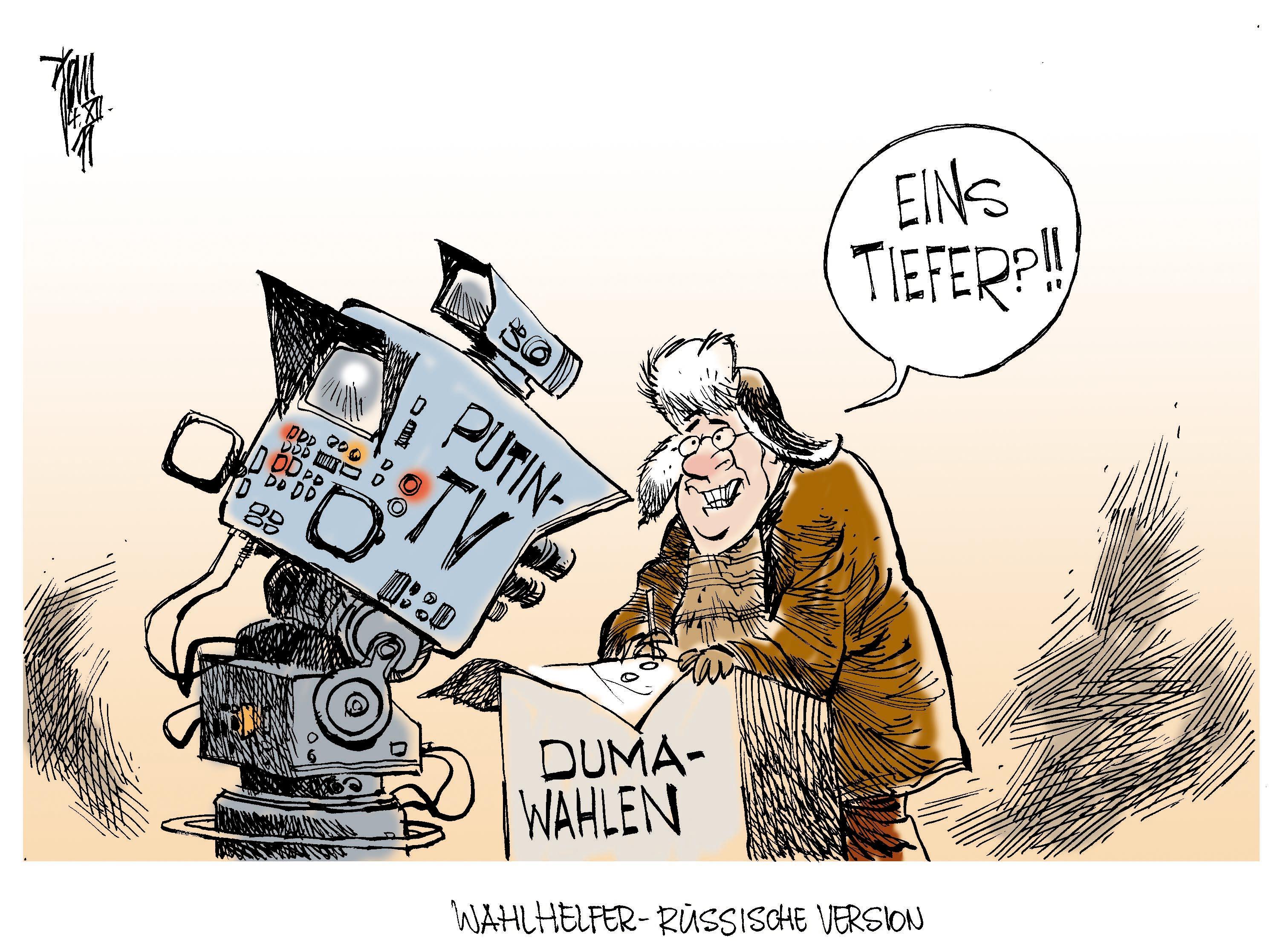 Russland Wahlen