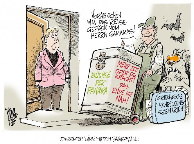 Euro-Krise: Griechenland benötigt mehr Zeit