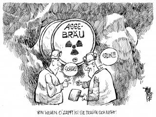 Asse- Entsorgung: Streit um Räumung der Asse
