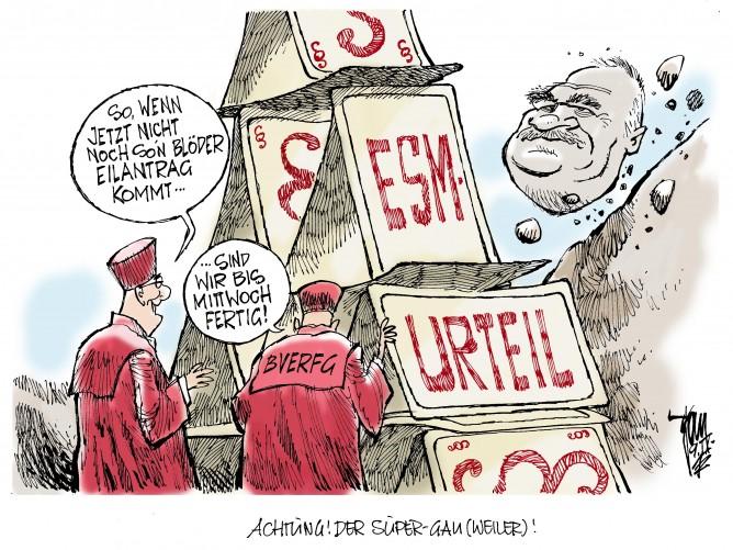 Gauweilers Eilantrag soll ESM-Entscheidung aufhalten