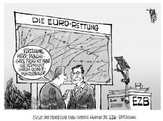 EZB-Ratssitzung:Ist der Euro bzw. Draghi noch zu retten?
