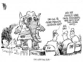Euro-Krise: Griechen können sich nicht auf Sparpaket einigen