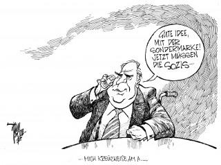 Helmut Kohl, Briefmarke, Sondermarke,Handi, Rollstuhl