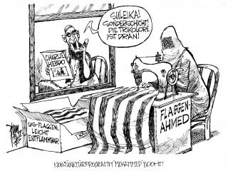 """Mohammed-Karikaturen: """" Charlie Hebdo hat wieder Mohammed Karikaturen publiziert"""