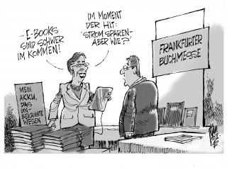 Frankfurter Buchmesse: E-Book im Kommen