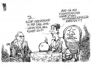 Euro-Krise: Der Austritt Griechenlands aus der Euro-Zone könnte 17 Billionen Euro kosten