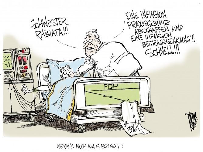 FDP-Umfragewerte: Reanimationsversuche
