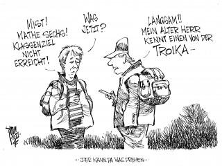 Die Troika: Objektivität sieht anders aus...