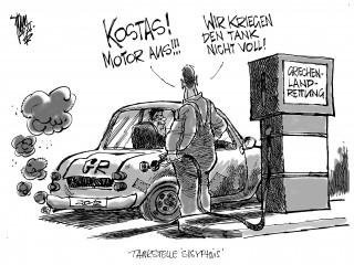Euro-Krise: 44 Milliarden auf den heißen Stein...