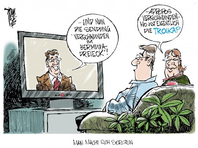 Troika-Bericht: Warten auf Godot