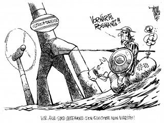 Offshore-Windanlagen: Die Zeche zahlen mal wieder die Kleinen