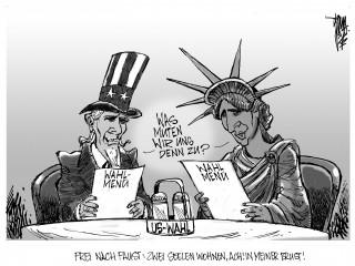 US-Wahl: Kopf-an-Kopf-Rennen von Obama und Romney