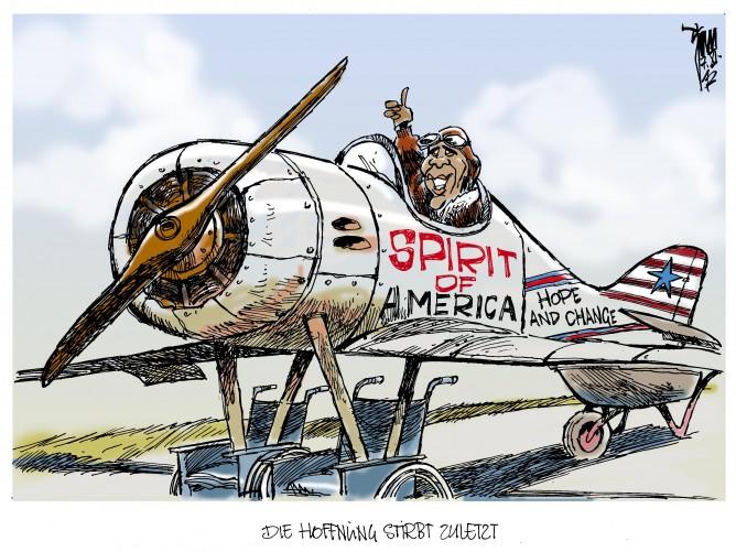 Wahlsieger Obama: Obama beschwört den Geist Amerikas