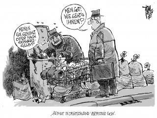 Armut in Deutschland verfestigt sich: Das Auseinanderdriften von Arm und Reich wird in der Bundesregierung infrage gestellt