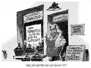 Korruptions-Index: Griechenland stürzt ab
