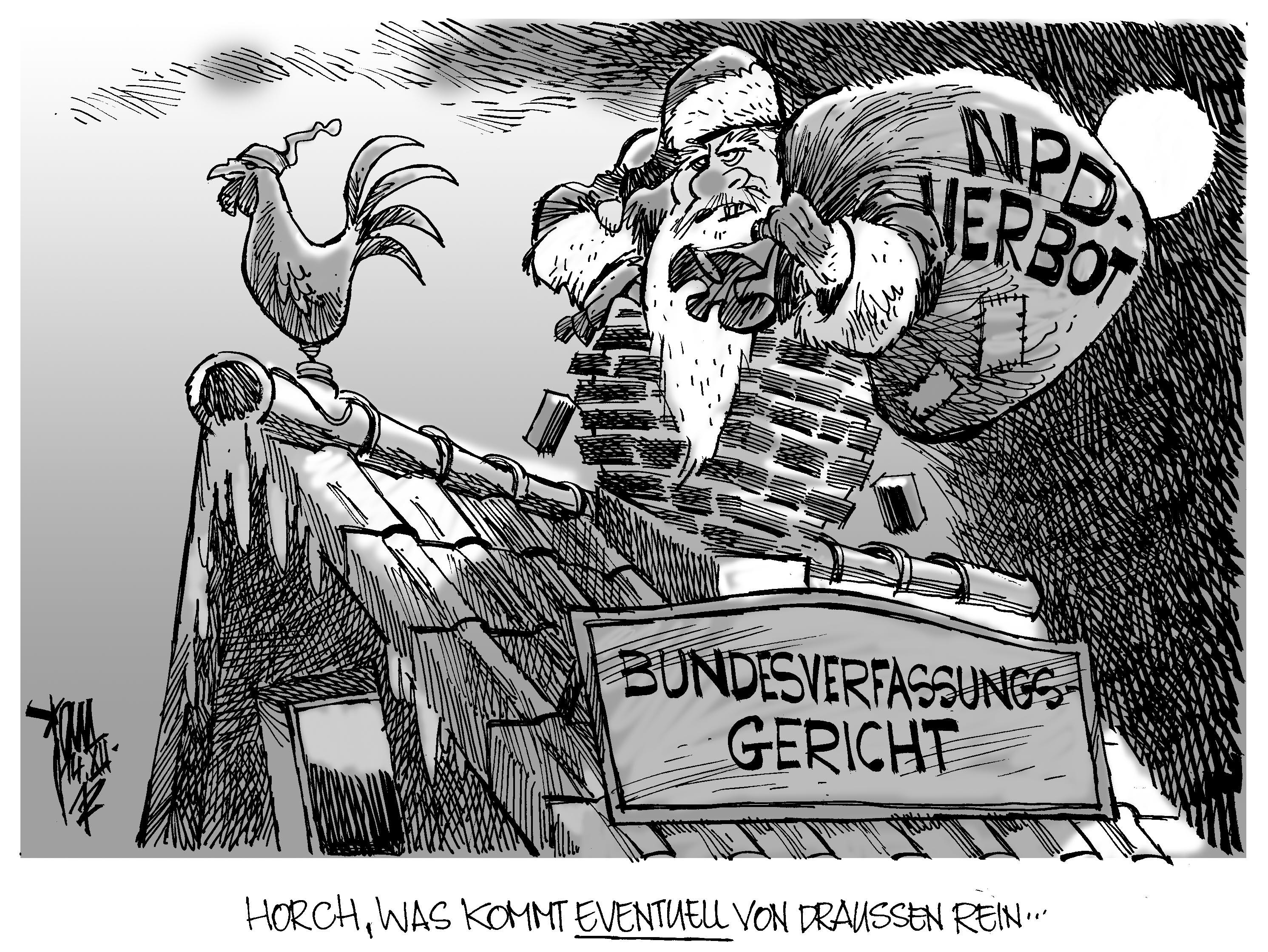 Karikatur Npd Verbot