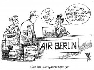 Entlassungen bei Air Berlin: 900 Arbeitsplätze sollen gestrichen werden
