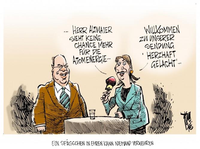 Atomenergie: Altmaier sieht keine Zukunft mehr für die Atomenergie