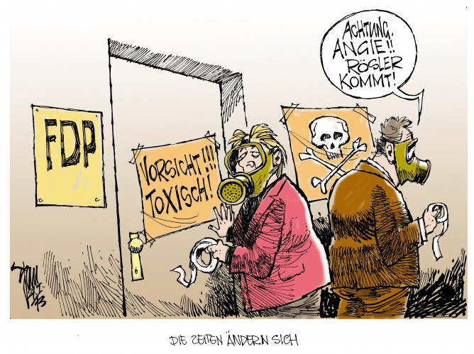 CDU geht auf Abstand zur FDP: Jeder macht seinen eigenen Wahlkampf. Resultat der Leihstimmenaktion in Niedersachsen.