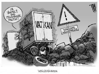 Chaos in Italien: Schlechte Wegstrecke für den Vatikan und die italienische Politik