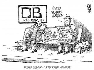 Deutsche Bahn muss alle Bahnhöfe mit Infotafeln ausrüsten: Laut Kölner Verwaltungsgericht ist die DB verpflichtet auch auf kleinen Stationen Fahrgäste über aktive Anzeigen zu informieren