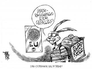 Euro-Krise: Noch jede Menge Überraschungseier im Körbchen