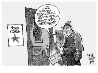 Nordkorea: Säbelrasseln als Antwort auf die Manöver der Streitkräfte der USA und von Südkorea
