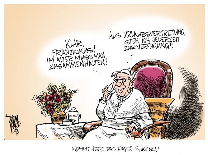 Papstwahl: Franziskus wird Benedikt vorerst nicht treffen