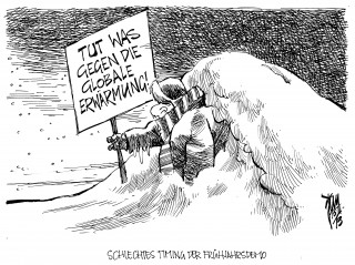 Märzwinter: Wetterkapriolen verursachen Chaos in Europa.