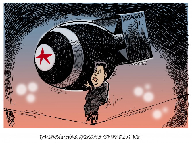 Korea-Konflikt: USA und Südkorea erhöhen die Alarmbereitschaft