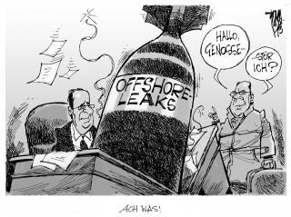 Offshore Leaks: Vetrauter von Hollande an Briefkastenfirmen beteiligt.