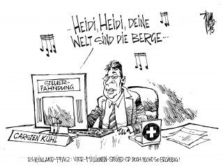 Steuer-CD: Wegen Fiskusbetrug wird bundesweit die Steuerfahndung tätig.Rheinland-Pfalz hat Anfang des Jahres für vier Millionen Euro eine Daten-CD erworben. Betroffen sind die Bankkunden mehrerer Schweizer Institute.