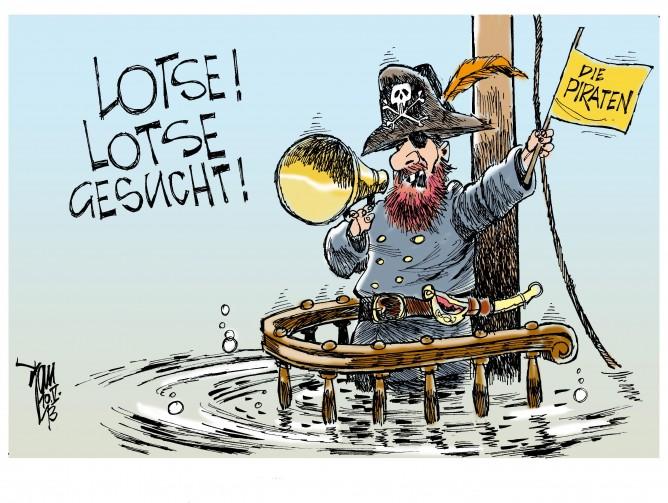 Piraten-Parteitag: Vorstandsposten sind neu zu besetzen.Ein neuer Geschäftsführer wäre auch nicht schlecht...