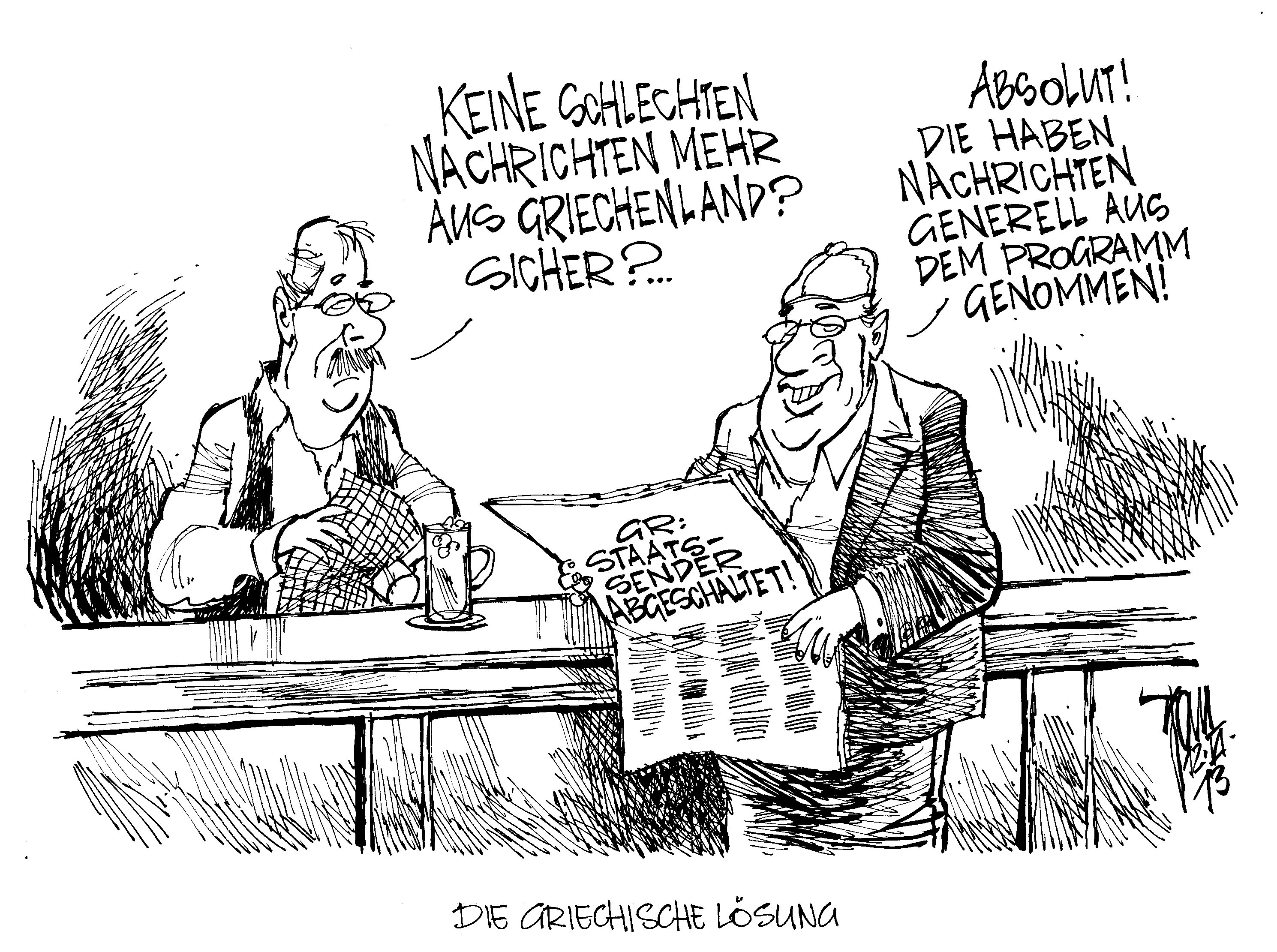 Karikatur Krise Aus Dem Griechischen Junger Jpg Pictures to pin on ...