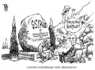 Euro-Krise: Griechenland benötigt ein neues Hilfspaket. Schäuble reist nach Athen.