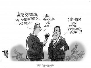 """NSA- Affäre: Friedrich informiert das Parlamentarische Kontrollgremium. Will Fakten in Sachen Spähprogramm """" Prism """" vorlegen."""
