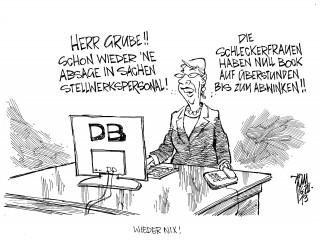 Bahn-Chaos: Die Deutsche Bahn holt ehemalige Mitarbeiter in den Dienst zurück.