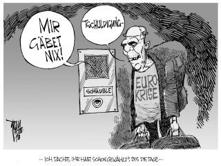 Euro-Krise: Ökonomen warnen- nach der Wahl kommt die dicke Rechnung für die Steuerzahler.