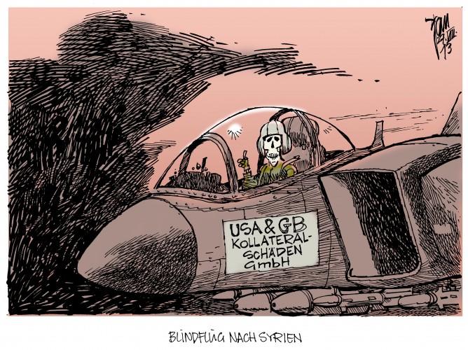 Syrien-Konflikt: Die USA und Großbritannien erwägen Militäreinsatz gegen Syrien.