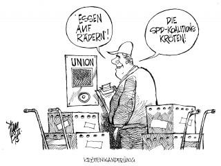 Sondierungsgespräche Schwarz-Rot: Die SPD-Spitze ist zu Sondierungsgesprächen mit der Union bereit