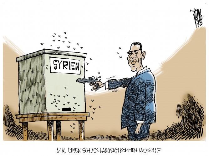 Syrien-Konflikt: Ein US-Militärschlag bleibt vorerst aus.