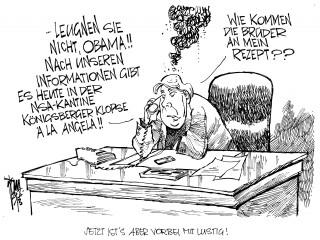 NSA-Affäre: Wurde das Handy von Kanzlerin Merkel abgehört? Angriffe der US- Geheimdienste werden dreister.