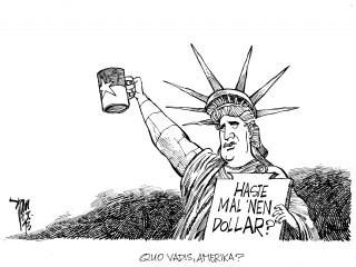 US-Haushaltskrise: Im US-Kongress konnten sich Demokraten und Republikaner nicht auf einen Kompromiss in Sachen Haushaltsgesetz einigen.
