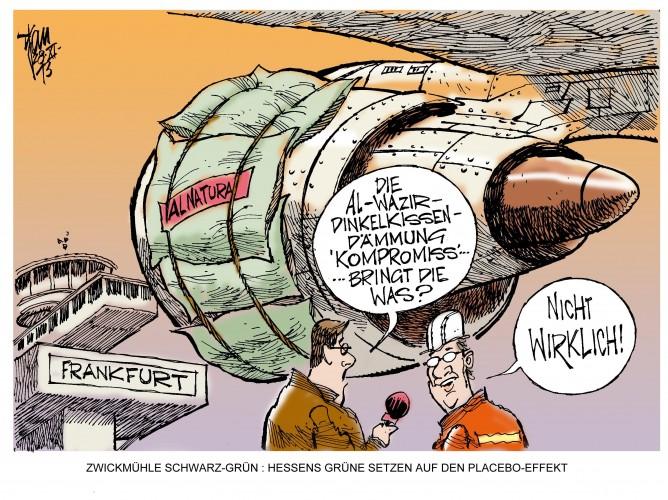 Schwarz-Grün in Hessen: Der Flughafen-Kompromiss dürfte für reichlich Zündstoff sorgen