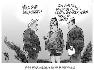 SPD- Frauenquote: Die Hälfte des SPD-Kabinetts soll weiblich werden