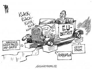 Erdogan in Berlin 14-02-04