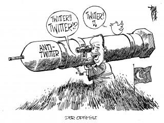 Erdogan und das Internet: Erdogan droht mit dem verbot von YouTube und Facebook, sollte seine Partei AKP bei den Kommunalwahlen erfolgreich sein