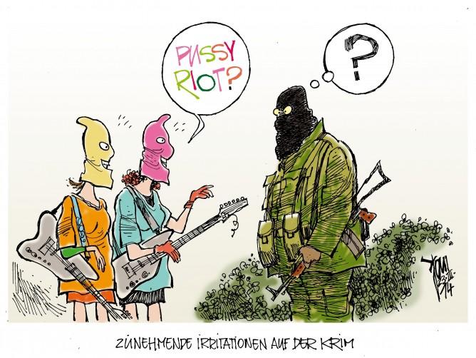 Krim-Krise, Pussy Riot, Putin, Russland, Ukraine