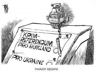 """Krim-Referendum: Auf den Stimmzetteln fehlt ein klares """" Nein """" in Sachen Pro Russland"""