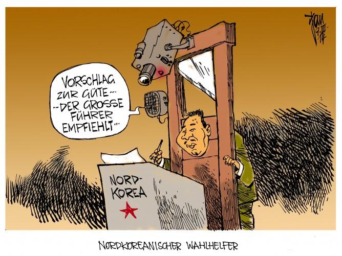 Nordkorea waehlt 14-03-09 rgb